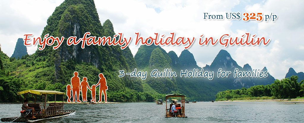 Family Holiday in Guilin, China