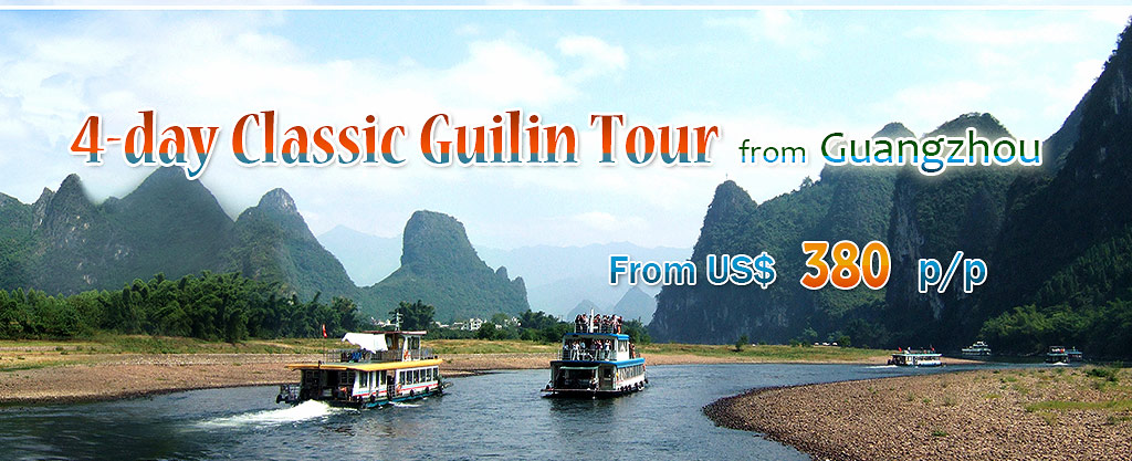 Li River Cruise, Guilin Yangshuo Tours