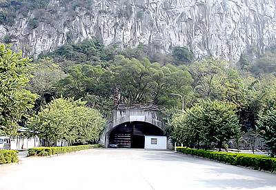 Barracks & Hangar Cave of Flying Tigers in Liuzhou