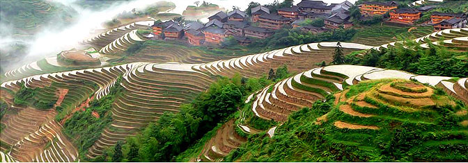 Longsheng Rice Terrace, Travel to Guilin