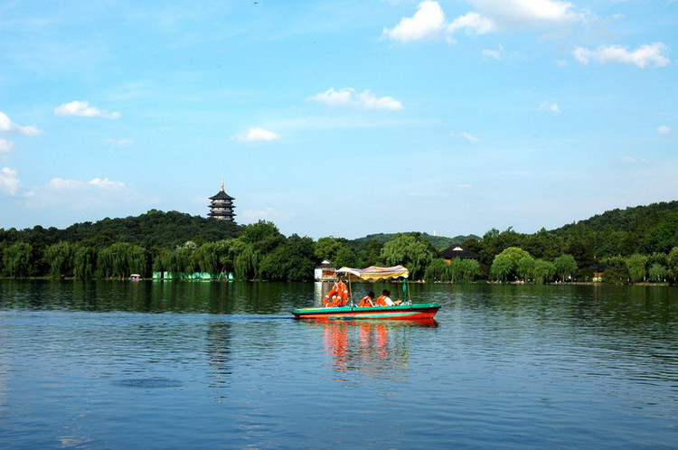 West Lake - the symbol of Hangzhou City