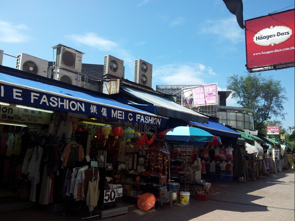 Stanley Market - ideal spot for shopping souvenirs in Hong Kong