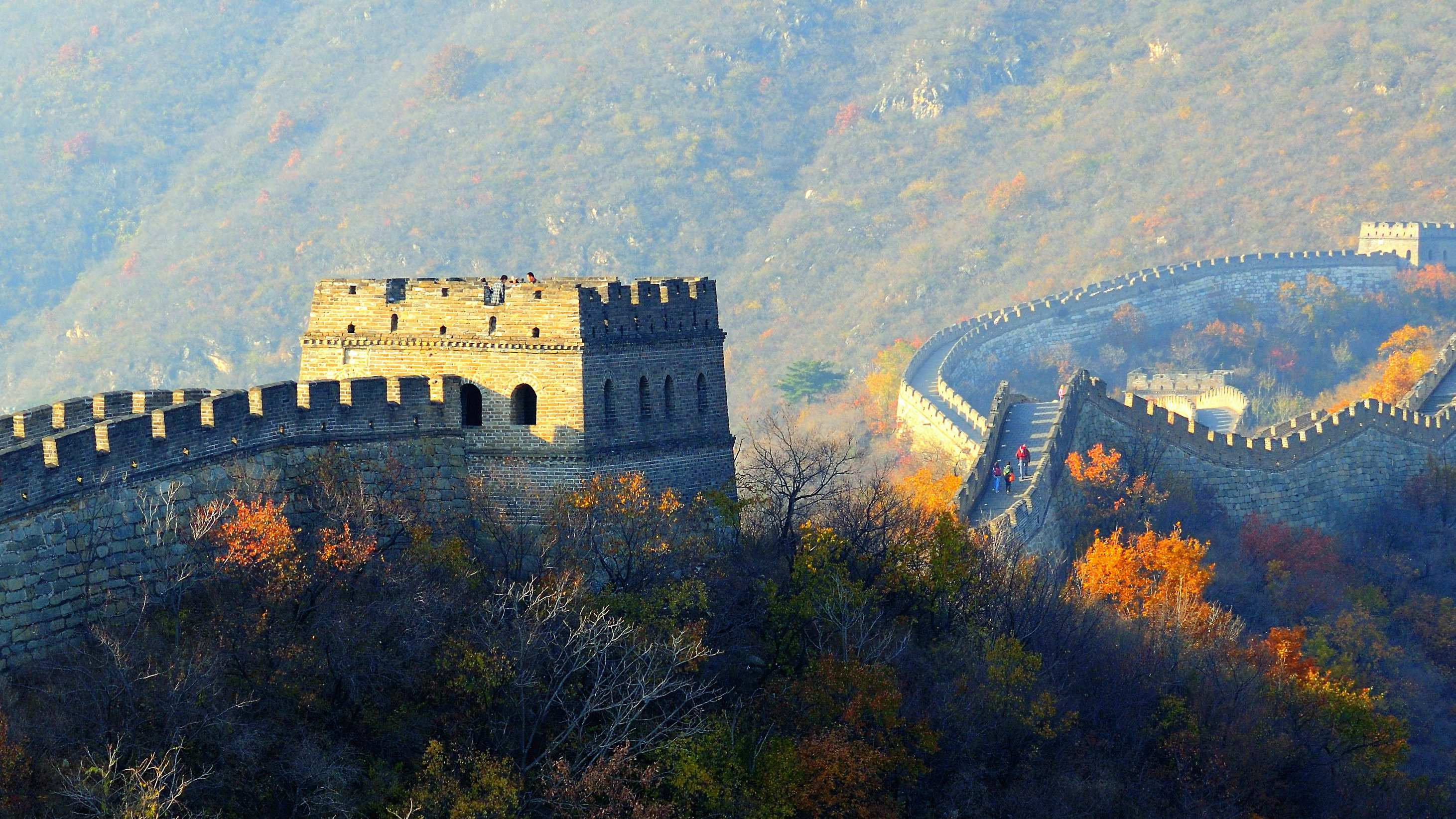 Mutianyu Great Wall - the most beautiful section of China Great Wall