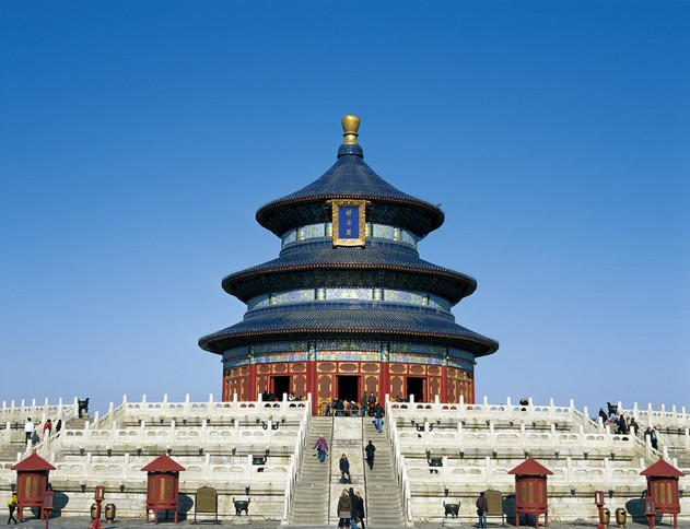 Temple of Heaven - China's largest existing complex of ancient sacrificial buildings