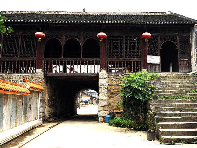Danzhou Ancient Town,Sanjiang county