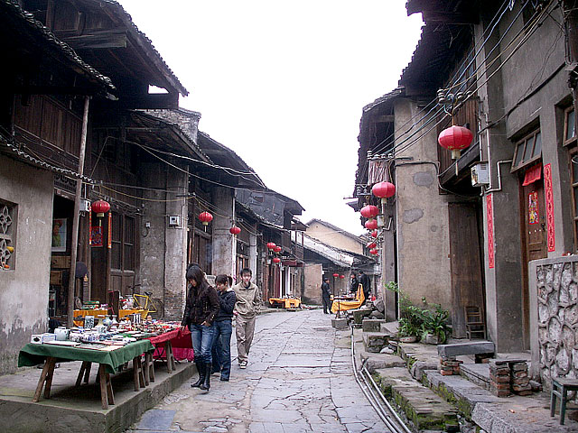Daxu ancient town in Guilin