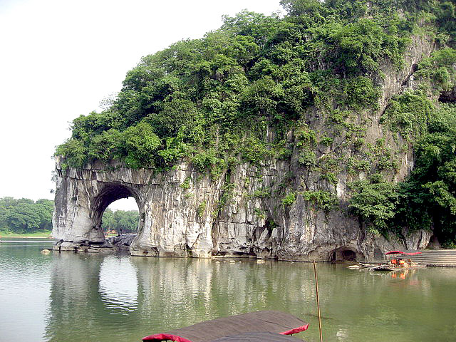 Elephant Trunk Hill is a must-visit for a classic Guilin Yangshuo Tour