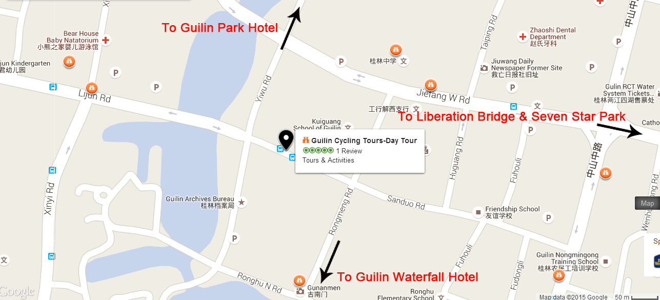 Guilin Cycling Tour Company Address