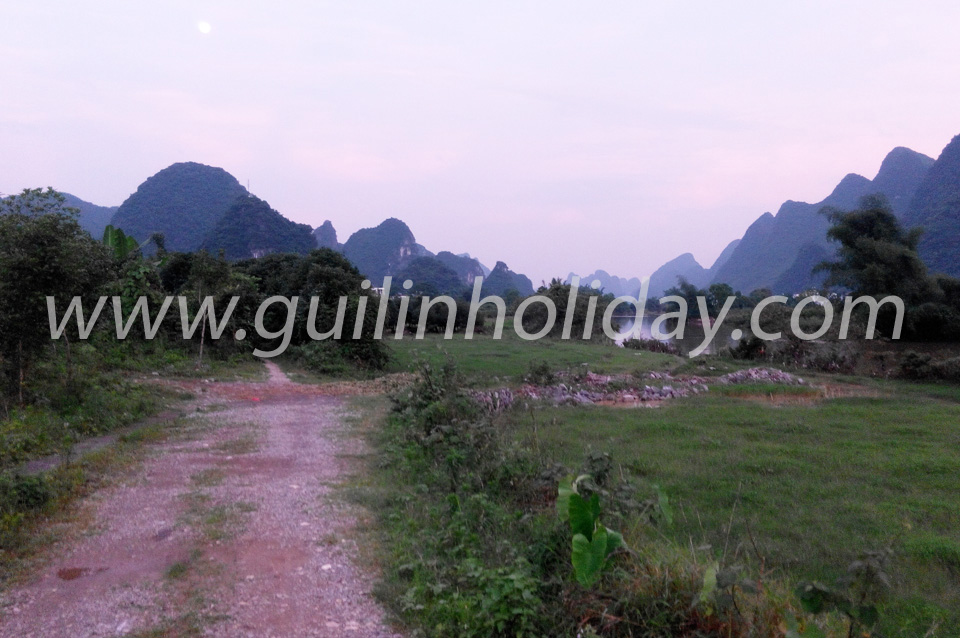 Yulong River biking Yangshuo