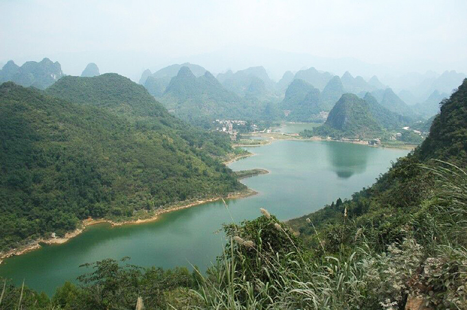 Xitang village, cycling to Yangshuo