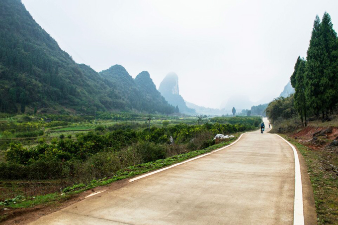 bike tour to Yangshuo