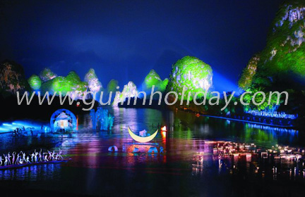 Impression Sister Liu's Light Show at Yangshuo