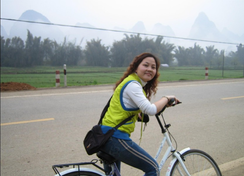 Guilin biking for simple life and breathtaking landscape