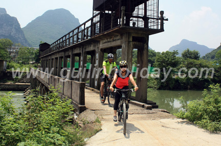 Countryside of Guilin, Bike Tour Guilin