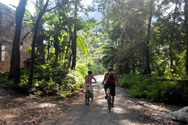 Untouched biking routes of Guilin