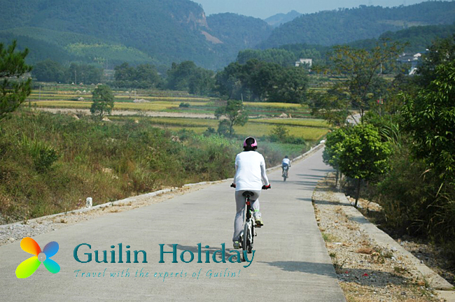 Peaceful route from Guilin to Xing'an
