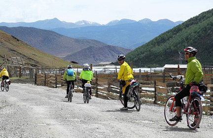 Southwest China Bike Tour at Yunnan province