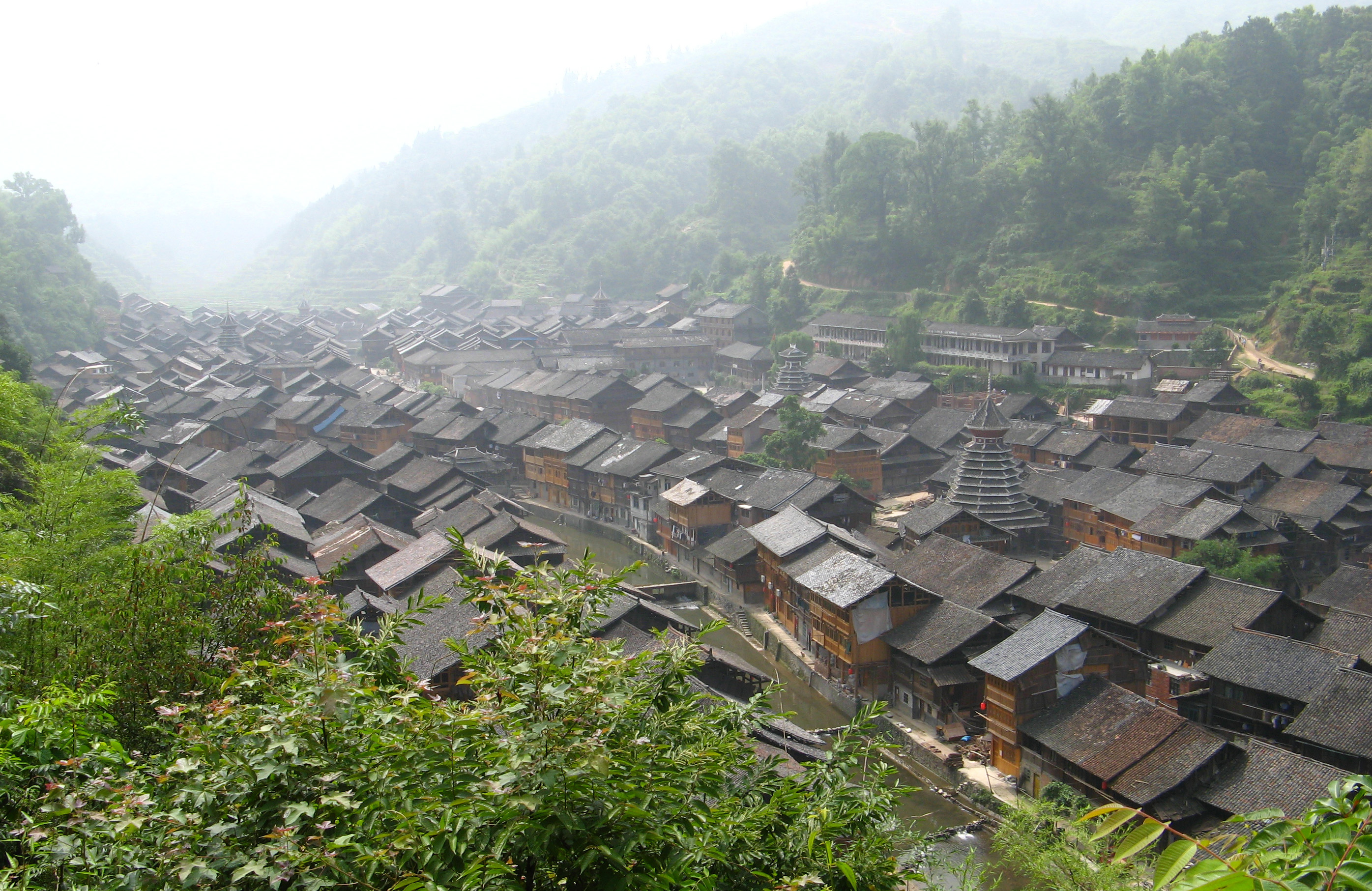 Cycling from Congjiang to Zhaoxing, China cycling tours