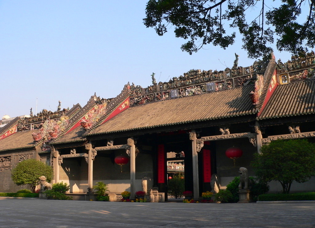 Chen Family Temple - a comprehensive expression of Guangzhou folk arts and crafts