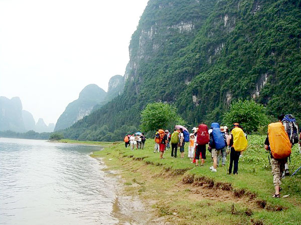 Li River trekking from Yangdi to Xingping