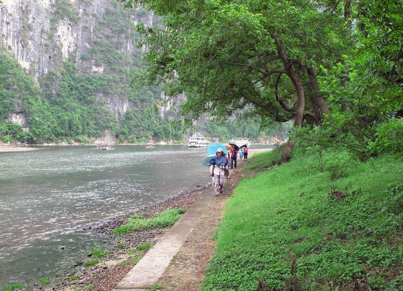 Li River hiking, Yangshuo Guilin