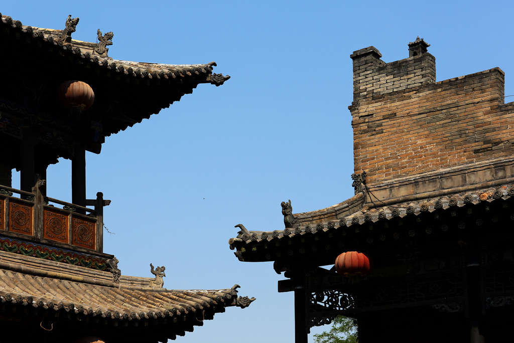 Pingyao Old town has the best-preserved ancient houses