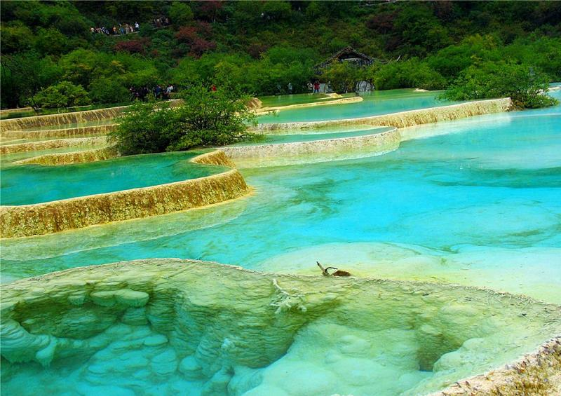 Huanglong scenic area,Sichuan China