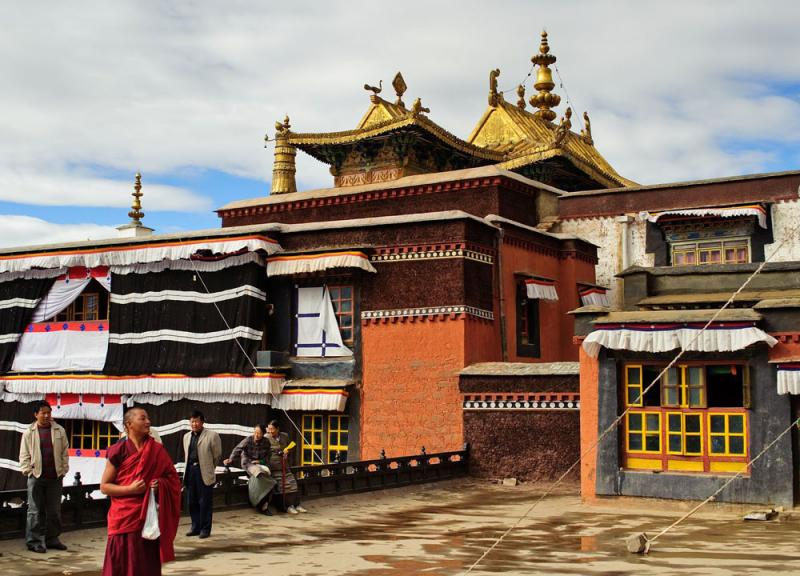 Tashilumpo Monastery,Shigatse Tibet