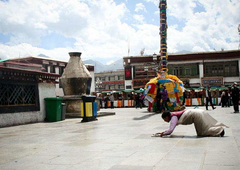 Lhasa Barkhor Street,Tibet