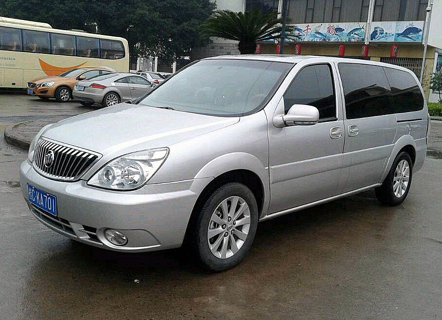 7-seat Buick, Guilin China Transfer