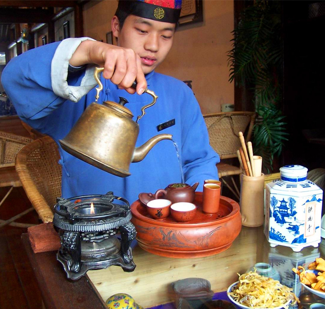 Have a cup of Wuyi Rock(Oolong) Tea