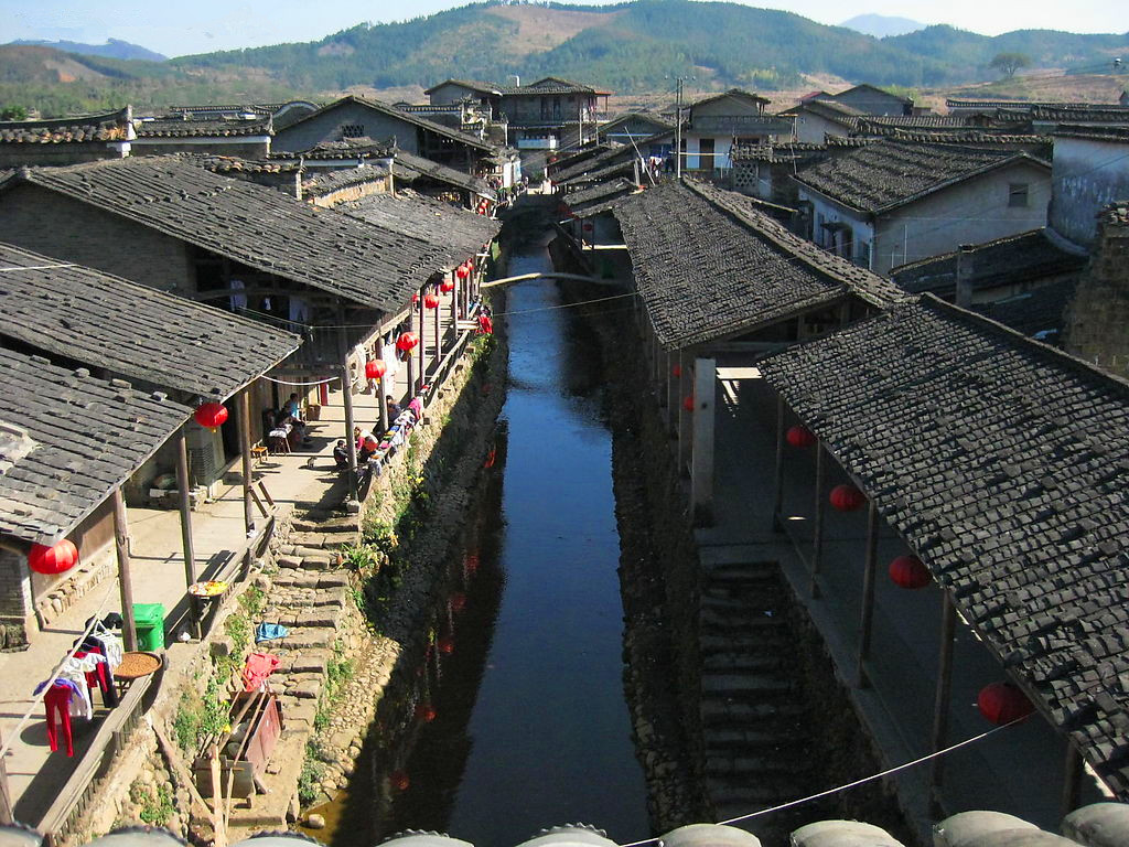 Xiamei Old village is famous for planting Wuyi Rock Tea