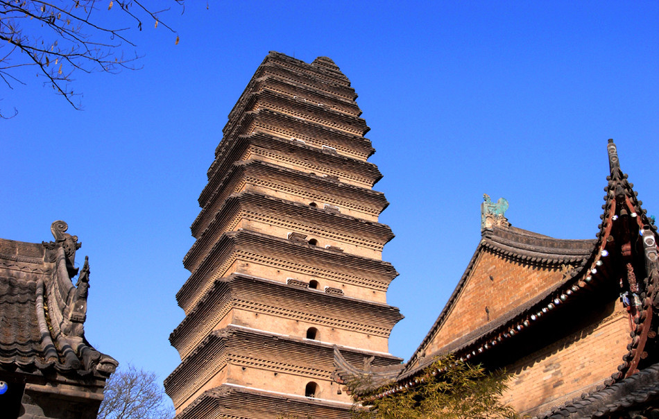 Small Wild Goose Pagoda - a significant Buddhist site in Xian
