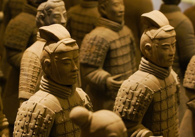 Terracotta Army - most significant archeological excavations of the 20th century