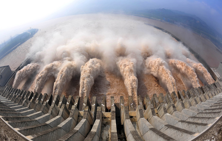 Admire the marvelous water project of Three Gorges Dam