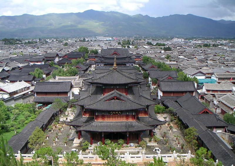 Lijiang ancient town,Yunnan China