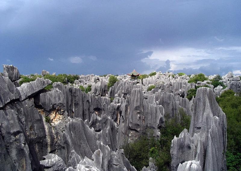 Kunming Stone Forest,Yunnan China