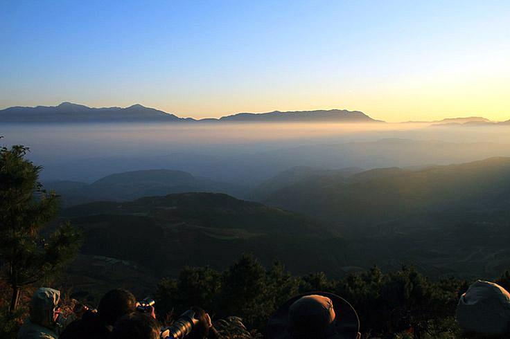 Sunrise at Damakan,Dongchuan