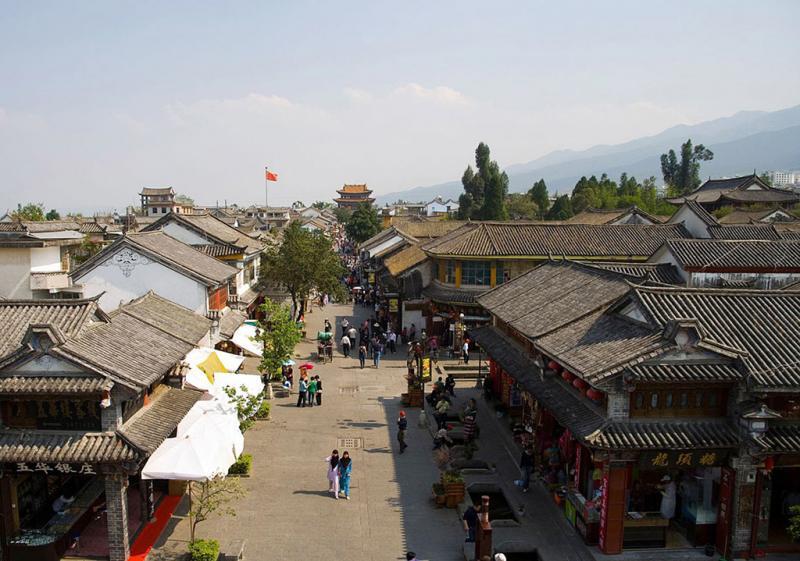 Dali ancient town, Yunnan China