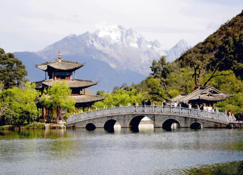 Black Dragon Pool,Yunnan China