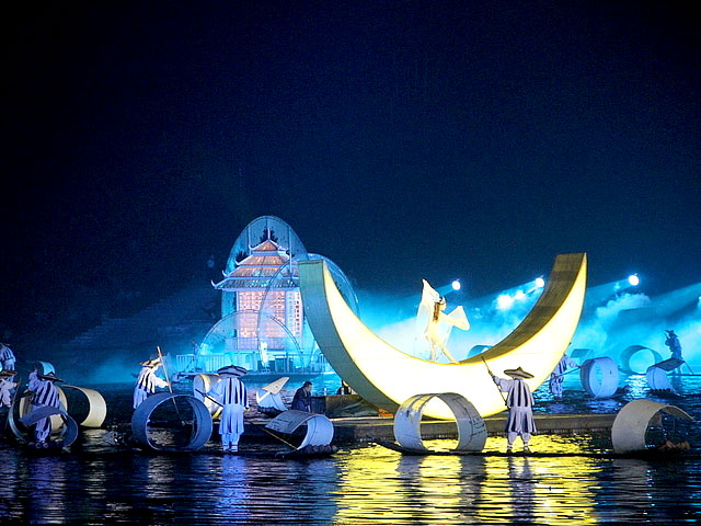 Impression Liu Sanjie night show in Yangshuo