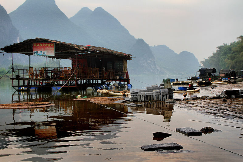 Explore Yangshuo for the picturesque landscape and enchanted villages
