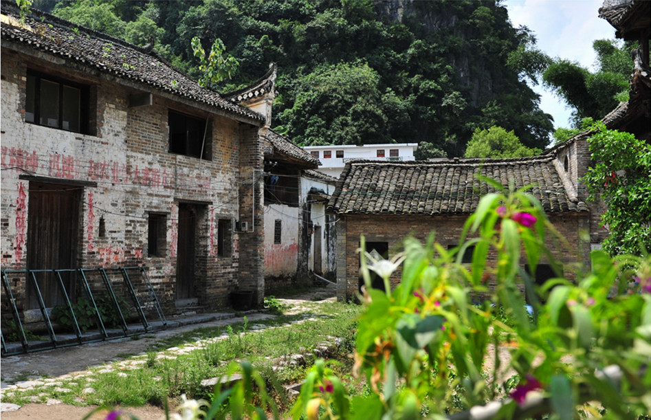 Old houses of Liugong Village Yangshuo