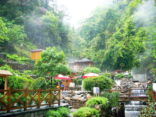 Longsheng Hot Spring,Guilin