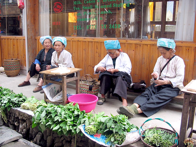 Longji hiking for the ethnic minority culture