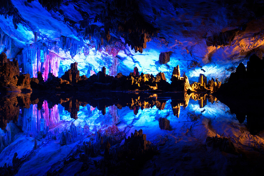 The crystal palace of Reed Flute Cave