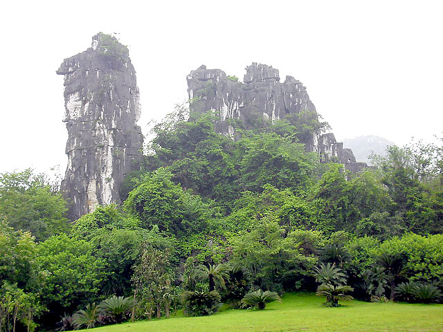 Camel Peak in Seven Star Park,Guilin