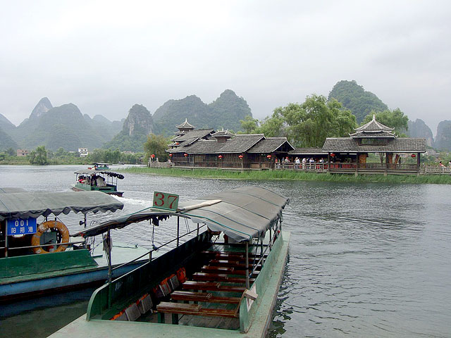 Yangshuo is widely known for its picturesque countryside