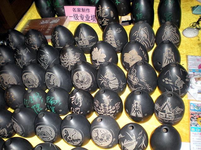 West Street in Yangshuo is selling various local handiworks