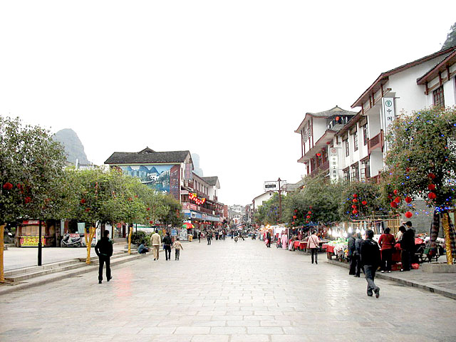 Yangshuo town, Widely Known for Beautiful Landscape